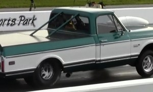 "Mic Sites' ""Sleeper"" '71 Chevy Cheyenne Blasts ¼ Mile At 160 MPH"