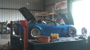 Video: LMR's 1600 Horse 'Vette Rips It Up On The Dyno