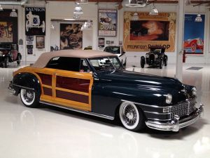 Viper Power In A 1948 Chrysler Town And Country