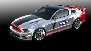 "2013 ""Red Tails Edition"" Mustang Heading To Auction"