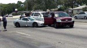 Wrecked Vette Wednesday: Honda Slams Into C6, Sends 3 To Hospital