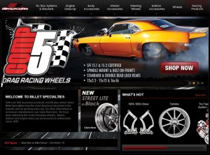 Billet Specialties Launches Spiffy New Website