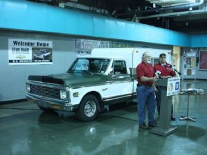 Classic Cheyenne Pickup Makes Homecoming Journey to Flint Plant
