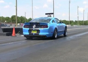 Video: First 2013 Shelby GT500 Hits The 9s