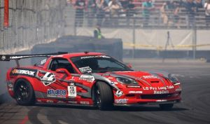 Watch a C6 Tear it Up at Formula DRIFT