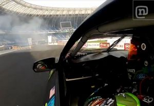 Video: Vaughn Gittin Jr. Wins 1st Round Of World Drift Series