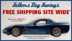 Get Dad Parts from Mid America Motorworks and Enjoy Free Shipping