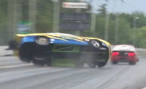Video: Sport Compact Racer Takes Wild Ride At Atco Import Shootout