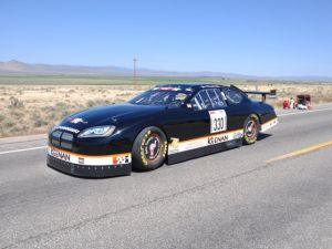 Video: NASCAR Dodge Charger Breaks Road Racing Speed Record