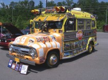 17. '56 Ford School Bus from New Mexico