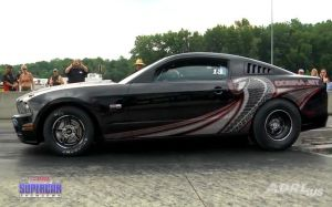 Video: 2013 Cobra Jet Mustang Makes First Full Pass