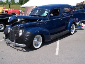 35. Jim Vogel's '39 Sedan Delivery