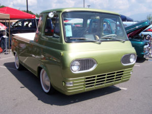 36. '62 Econoline PU in green