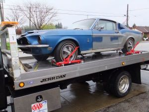 68 Shelby GT350 Recovered From Barn, Brought To Craigslist