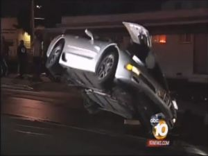 Wrecked Vette Wednesday: Nitrous-Fed C5 Z06 Crashes In San Diego