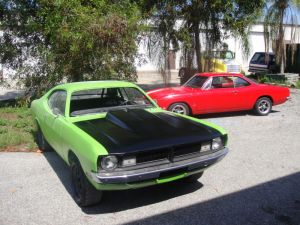 Wrecked: A '70 Duster Gets Reincarnated As A '71 Demon