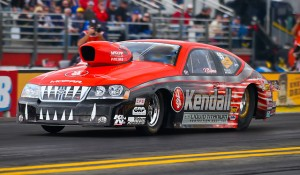 Pro Stock&#8217;s Gaines Fittingly Enjoys Season-Best Outing At Denver