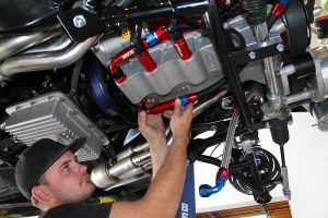 Keepin' It Slick: BlownZ's Dry Sump Oil System