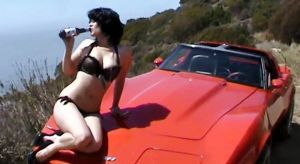 """Red Stingray Corvette"" Music Video is Exuberant, Cheesy"