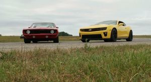 Video: Mark Stielow&#8217;s &#8220;Red Devil&#8221; &#8217;69 Camaro Vs. the New ZL1