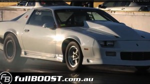 Video: 406ci Twin-Turbo Third-Gen Camaro Runs Bottom 5s