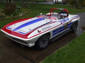 "The Original ""Supernova"" Racer 'Vette Heads To Monterey"