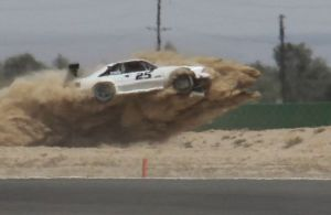 Video: Mustang Goes off Track At 130 MPH + Post Crash Analysis