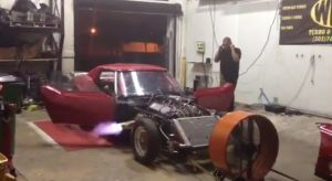 Video: &#8217;72 Corvette with Nitrous-Fed Big Block on the Dyno