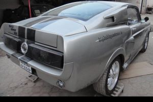 Indian Economy Car Becomes Mini-Eleanor Mustang