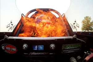 Video: Top Fuel Racer Brady Kalivoda&#8217;s Fiery Ride In Norwalk