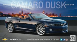 "2013 Camaro ""Dusk"" Edition Confirmed"