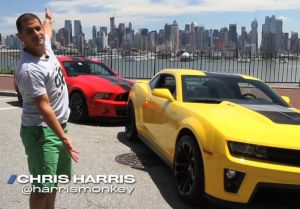 Video: Chris Harris Compares 2013 GT500 Vs. Camaro ZL1