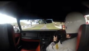 Video: Watch On Board as a C4 Corvette Takes On a Narrow Hill-Climb