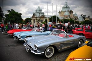Prague Celebrates America's Sports Car at Annual Corvette Event