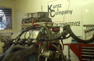 Video: An 1,100 HP Big-Block Ford On The Engine Dyno