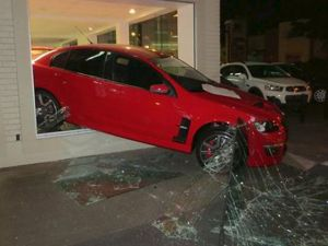 Thieves Make Off With An HSV Ute And Commodore; Leave One Hanging.