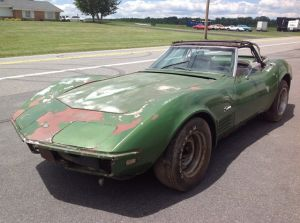Wrecked Vette Wednesday: Project or Parts Car?