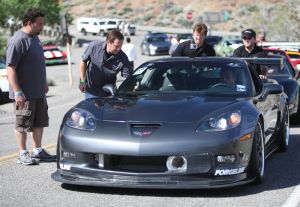 LG Motorsports Carbon Front Splitter Helps Your C6 Get Down-Force