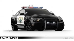 Shelby GTS Police Interceptor A Possibility?