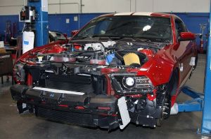 Shelby Begins Work On First Batch Of 2013 Super Snakes