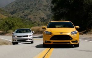 Video: Gittin, Foust, Deegan, And Block Run The Focus ST Ragged