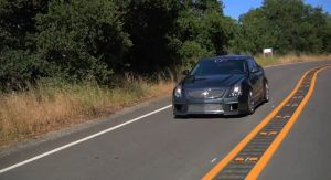Video: D3 Cadillac CTS-V Not for the Faint of Heart or Foot