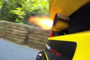 Video: Hennessey Venom GT Rockets Up Goodwood Hill Climb