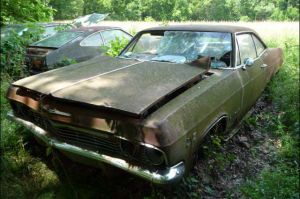 Found In The Weeds: 1965 Chevy Impala SS 396