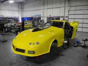 Troy Coughlin's New JEG'S Pro Modified C6 Corvette