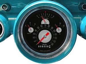 Classic Instruments Releases Gauge Package For The '57 Chevy