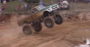 Video: Home-Built Chevy Mud Truck Hocks Air Like A Pro