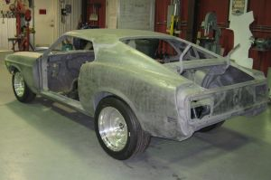 IRS For Early Mustang From Heidts Hot Rod & Muscle Car Parts