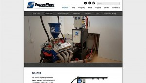 SuperFlow Launches New Website With Even More Engine Testing Tech