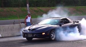 Video: Turbocharged &#8217;01 Firehawk Runs A 10.28 at 134 mph!